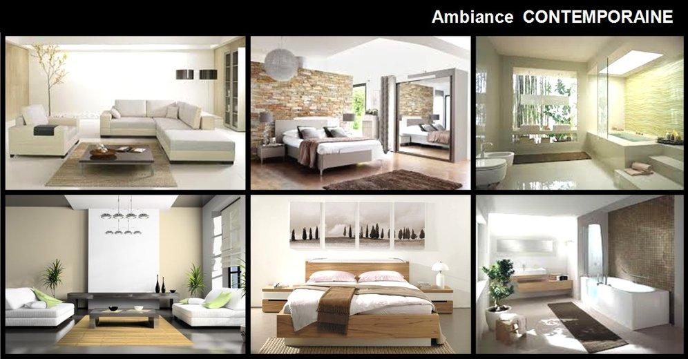 D co contemporaine for Decoration contemporaine interieur