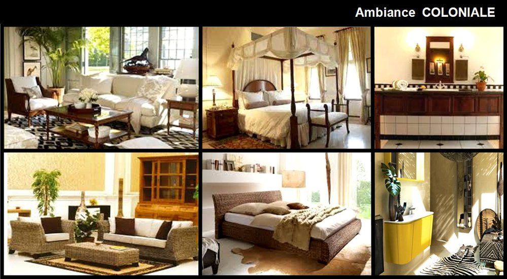 d co coloniale. Black Bedroom Furniture Sets. Home Design Ideas